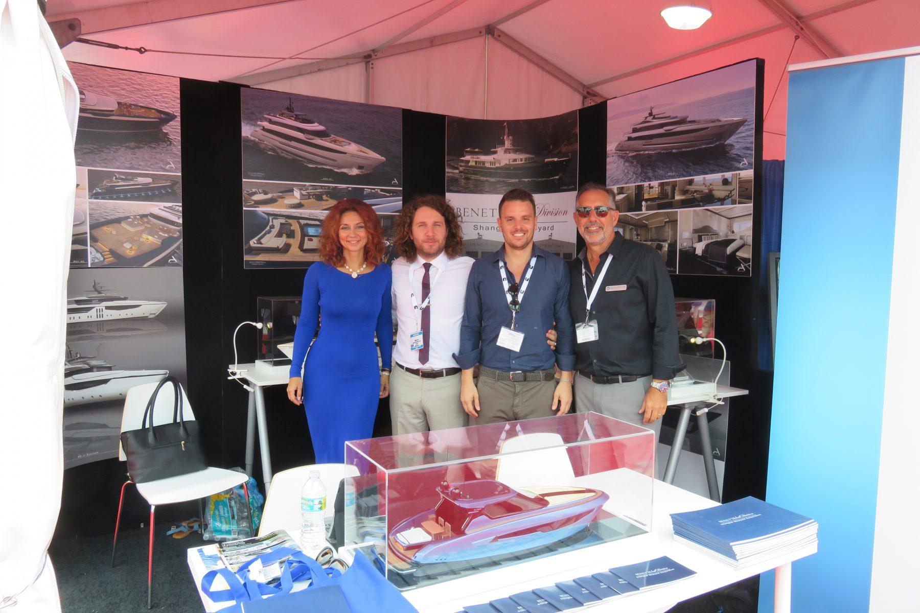 Miami International Yacht Sales introduces the Benetti SD/Shanghai Shipyard yacht