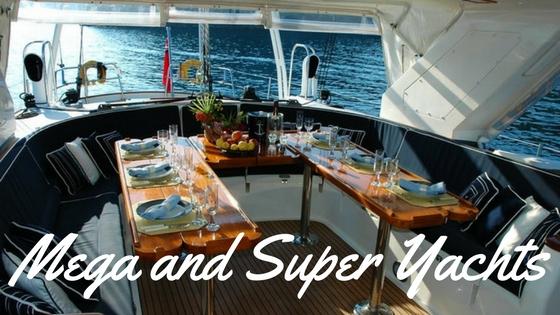 Mega and Super Yachts