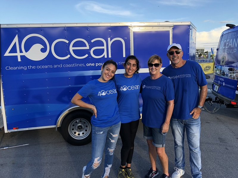 4Ocean for beach cleanup in Miami Beach