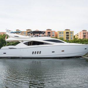 Top Gun Sunseeker Yacht