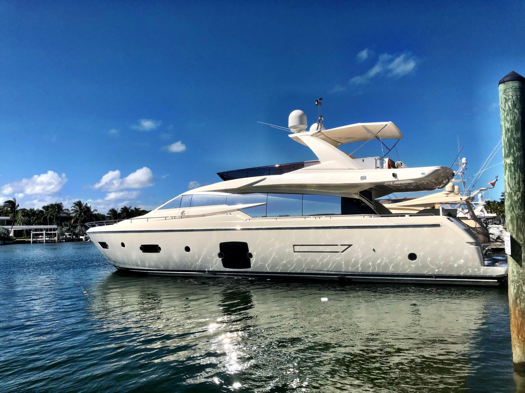 Motoryacht for Cruising - Ferretti Yacht 720